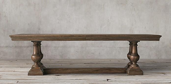 St James Rectangular Table Restoration Hardware