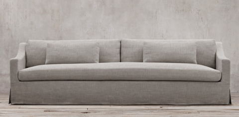 Belgian Classic Slope Arm Slipcovered Collection : restoration hardware sectional sofa - Sectionals, Sofas & Couches