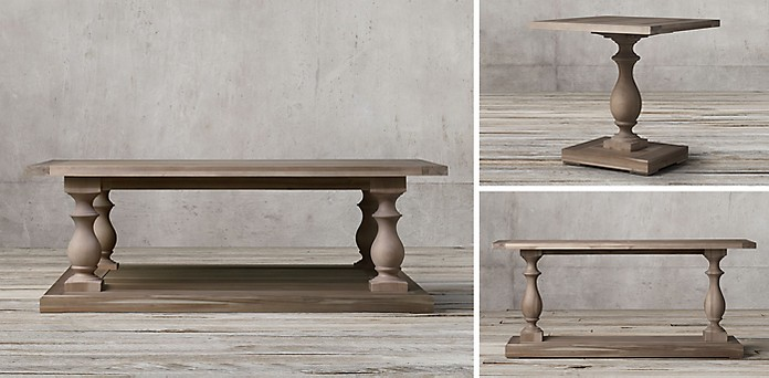 Restoration Hardware Salvage Baker S Console By Used In Gently Condition