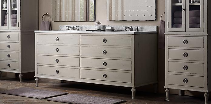 maison bath collection - antiqued taupe | rh