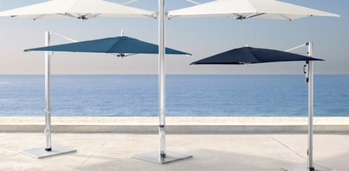 tuuci cantilever umbrellas
