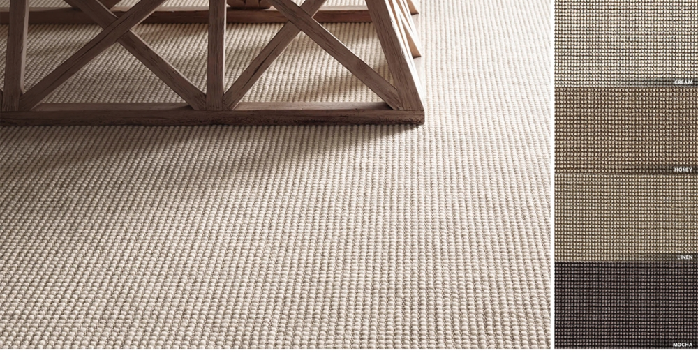 Wool Sisal Rug Available In 7 Sizes