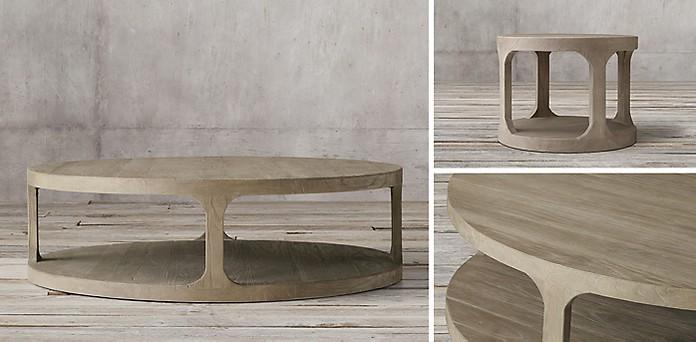 - Martens Round Collection - Aged Elm RH