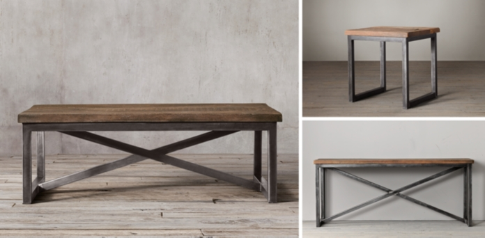salvaged boatwood coffee table | rh