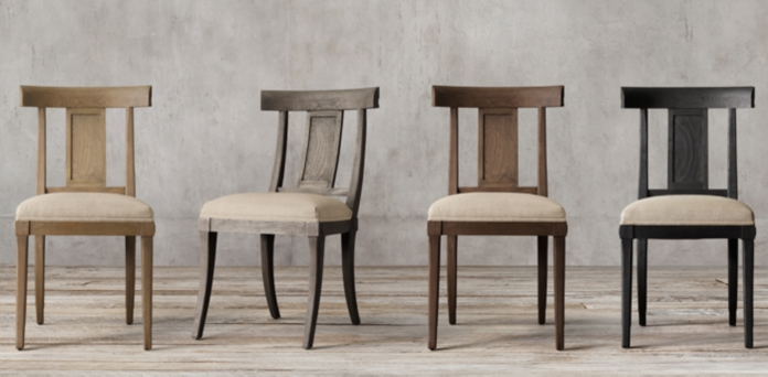 restoration hardware dining chairs Klismos Collection | RH restoration hardware dining chairs