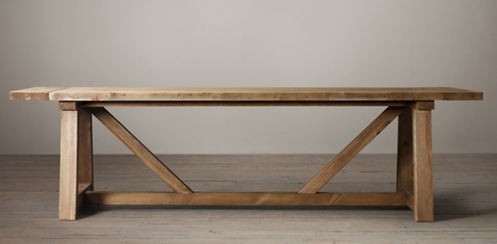 Beautiful Salvaged Wood Beam Collection Unique - Modern restoration hardware salvaged wood table Simple