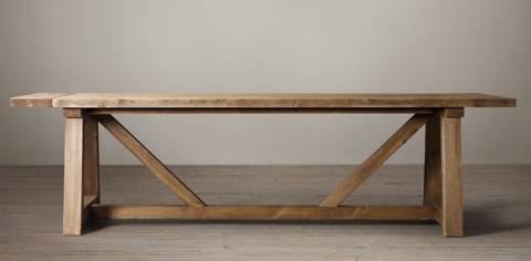 Salvaged Wood Beam Collection