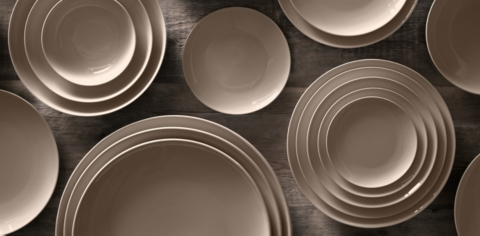 Chinese Porcelain Classic Coupe Dinnerware Collection & Chinese Porcelain Classic Coupe Dinnerware Collection - Prairie | RH
