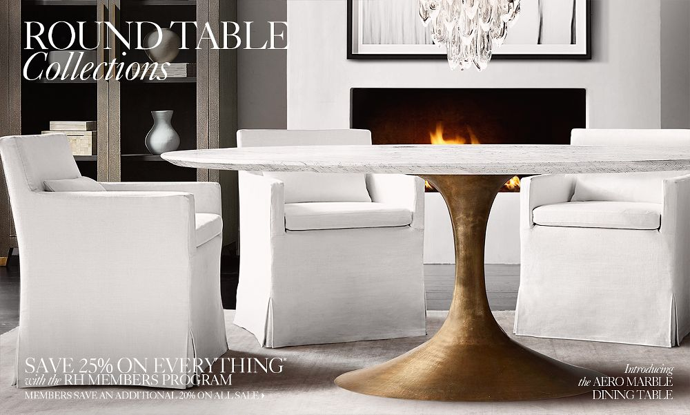 Round Table Collections | RH