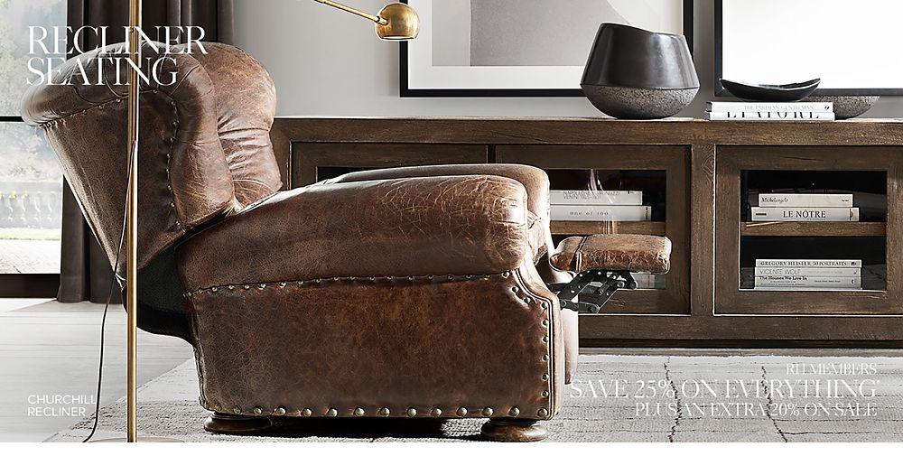 Shop Leather Recliners and Swivels