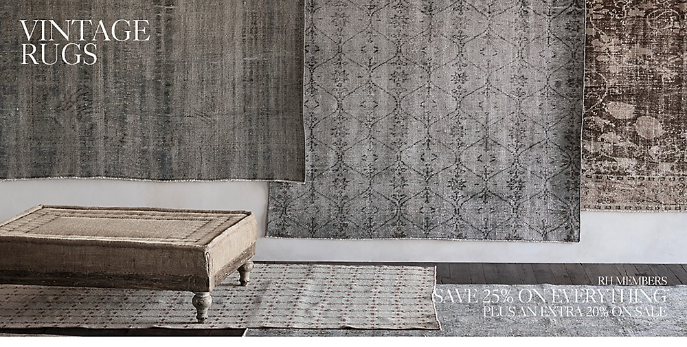 Shop Vintage Rugs by Ben Soleimani