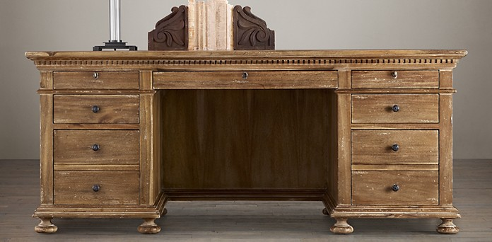 St. James Collection. Desks starting at - St. James Collection - Antiqued Natural RH