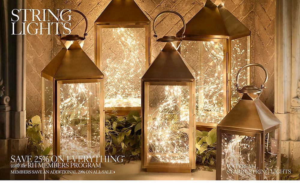 Shop Holiday String Lights