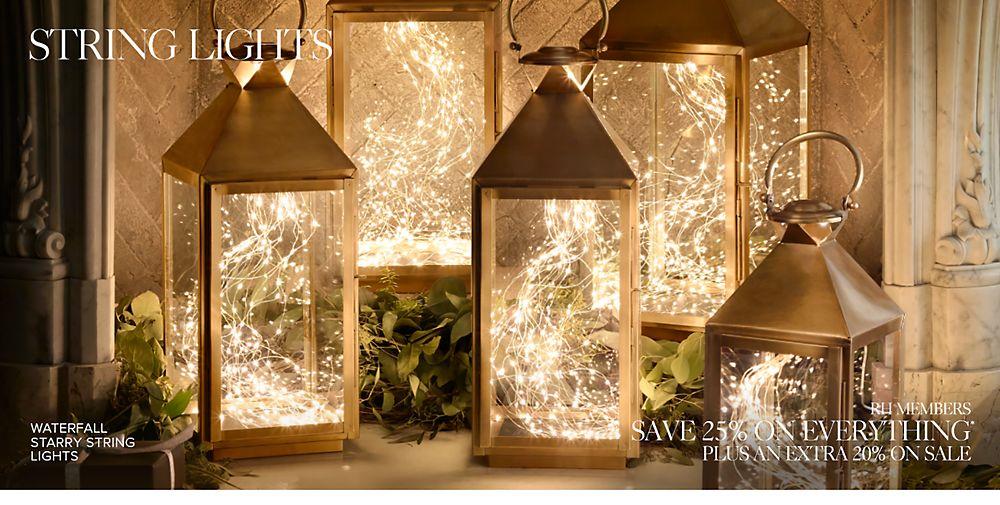 Shop Holiday String Lights