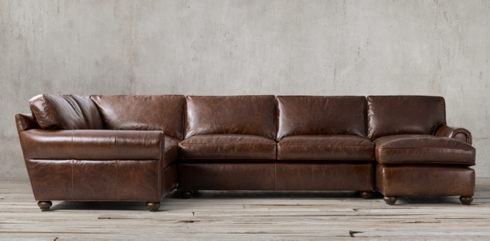 Sofa modern leder  Seating Collections | RH
