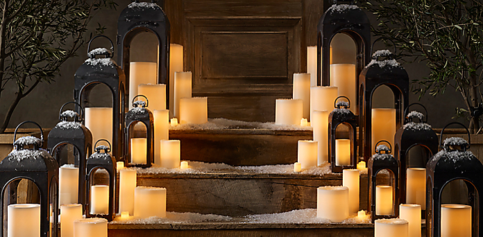 Remote Control Outdoor Flameless Candle Collection