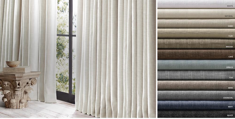 Perennials Textured Linen Weave Free Shipping