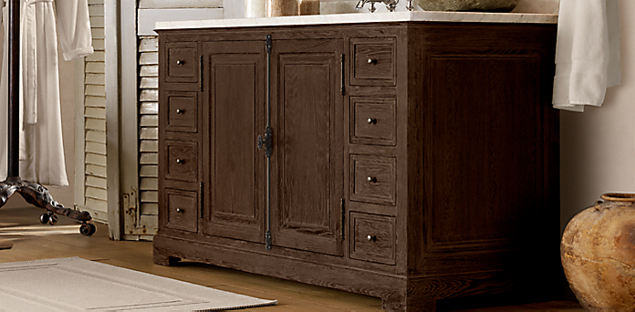 French Casement Collection Finishes Brown Oak Drifted Rh