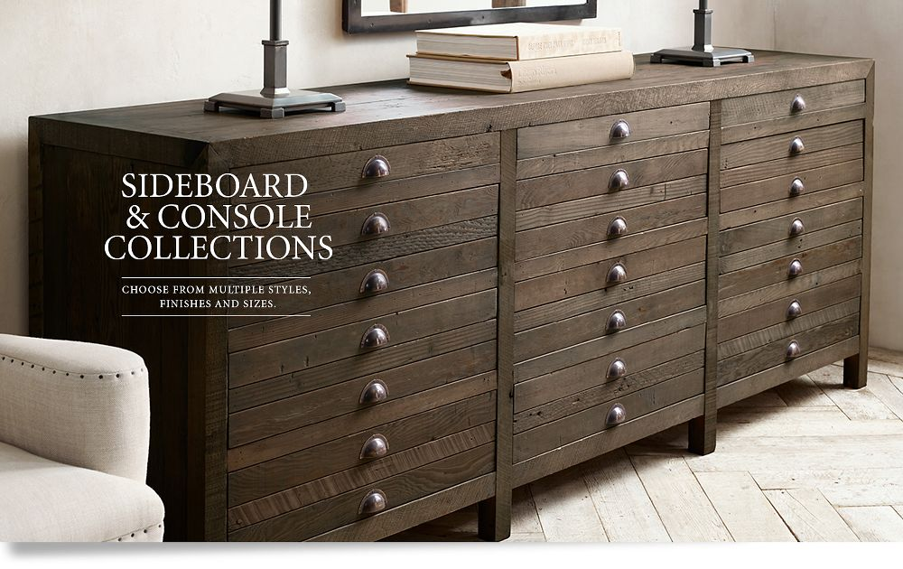 Sideboard and Console Collections