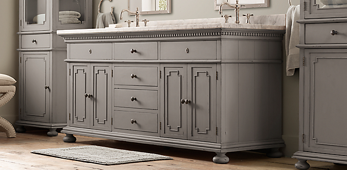 St james bath collection antiqued graphite restoration hardware