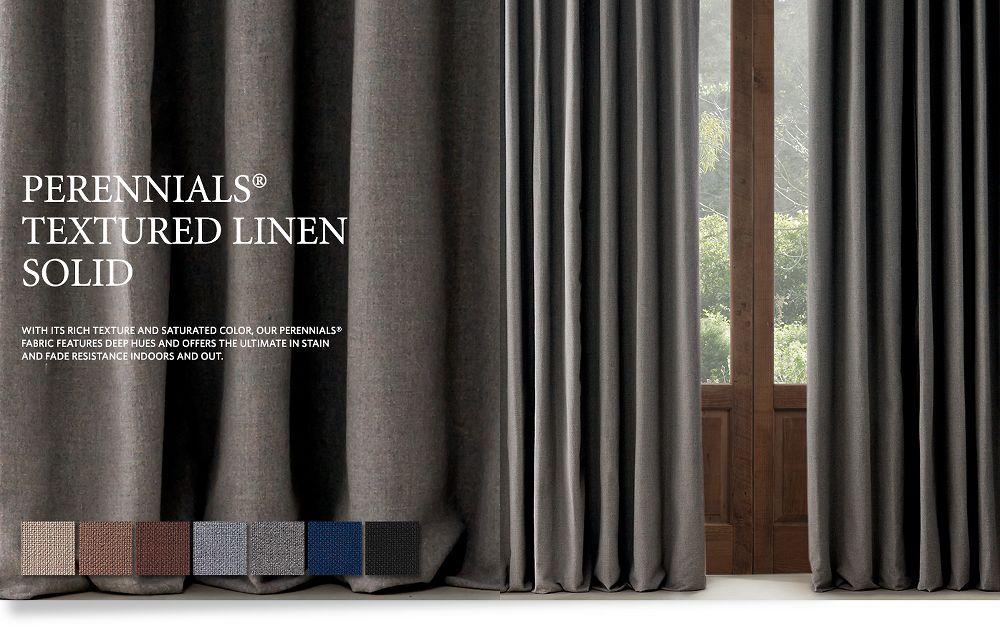 Perennials Textured Linen Solid