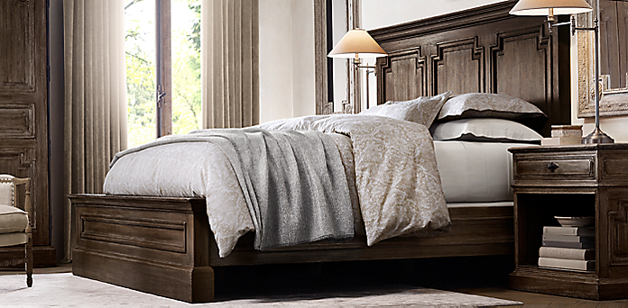 Bedroom Sets Restoration Hardware best restoration hardware bedroom sets gallery - home design ideas