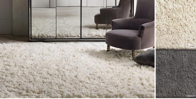 luxe highpile shag rug - Rugs