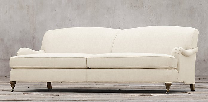 Sofas restoration hardware for Restoration hardware churchill sofa