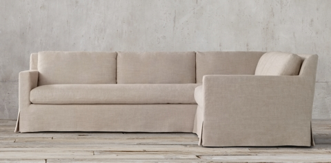 Slipcovered Sectionals : slipcover sectionals - Sectionals, Sofas & Couches