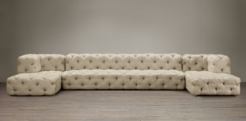 Soho Tufted Sectionals : restoration hardware sectional sofa - Sectionals, Sofas & Couches