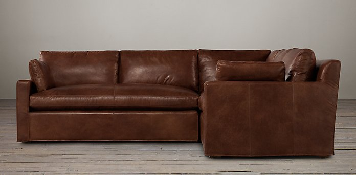 Astonishing Belgian Track Arm Leather Sectionals Rh Uwap Interior Chair Design Uwaporg