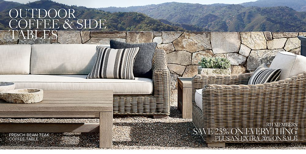 shop outdoor coffee tables