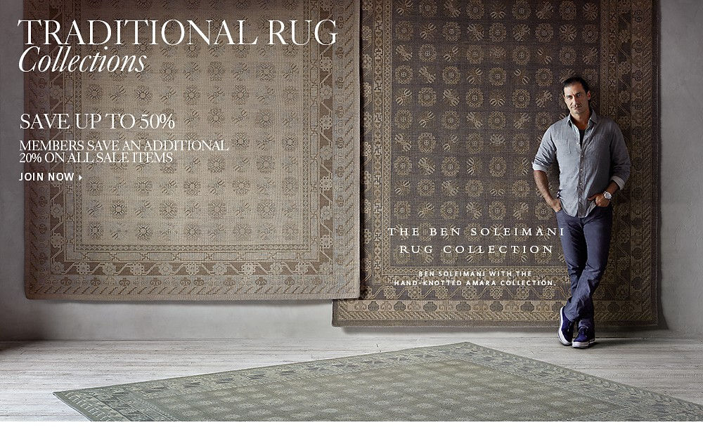 Handknotted Rugs by Ben Soleimani