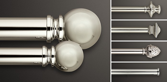 Clic Polished Nickel Colletion