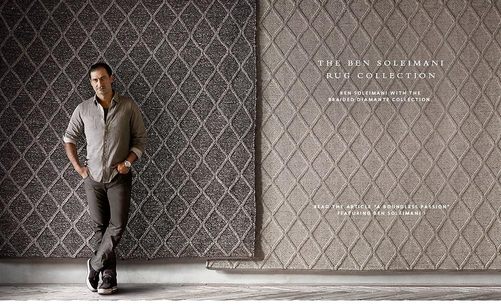 Textured Rugs by Ben Soleimani