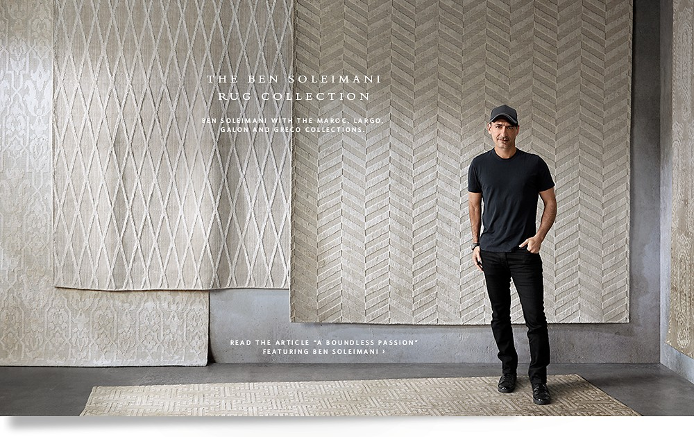 Contemporary Rugs by Ben Soleimani