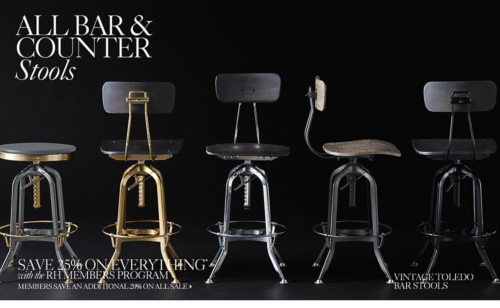 All Bar Amp Counter Stools Rh