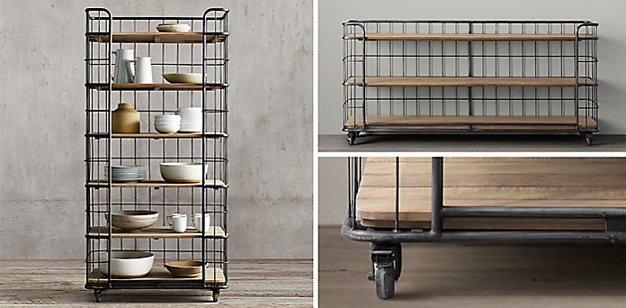 Well known Circa 1900 Baker'S Rack Collection | RH WU73