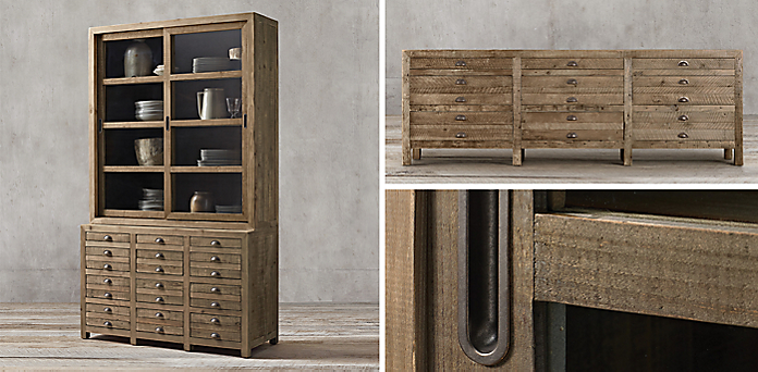 Printmaker's Collection - Shelving & Cabinet Collections RH