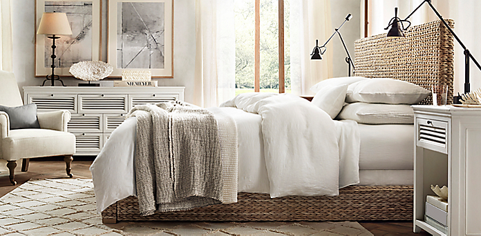 Great Restoration Hardware Bedroom Photos >> Bedroom You May Notice ...