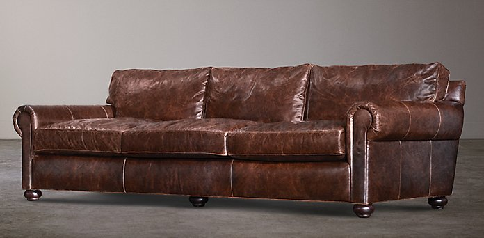 Restoration Hardware Leather : Restoration hardware leather sofa collections rh