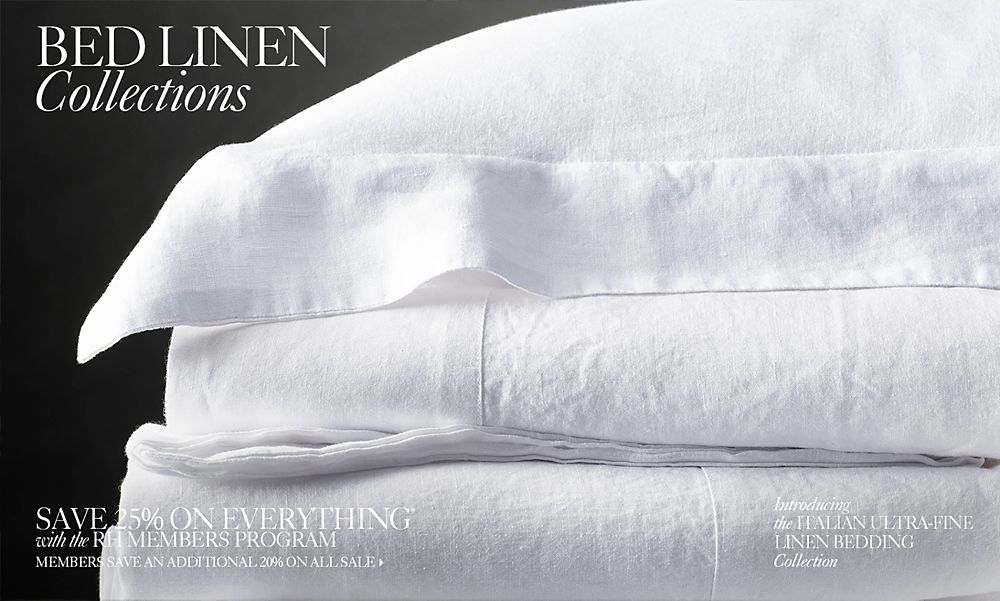 The Finest Linens are Made in Italy
