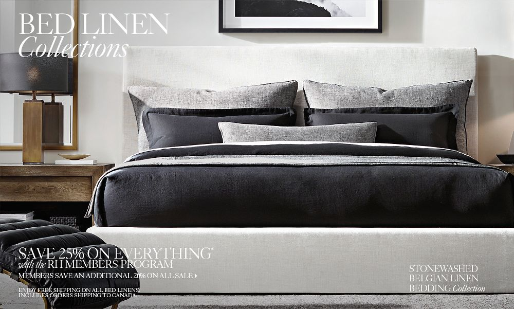 Bed Linen Collections – Bedroom Linen