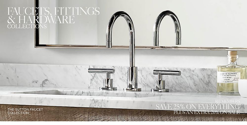 Shop bath faucet collections
