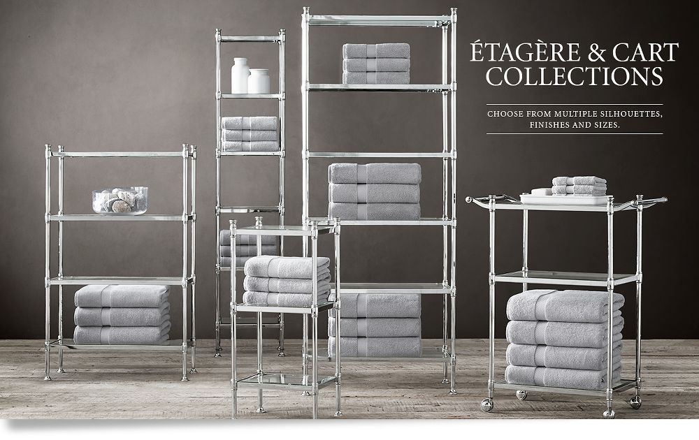 Etagere and Cart Collections