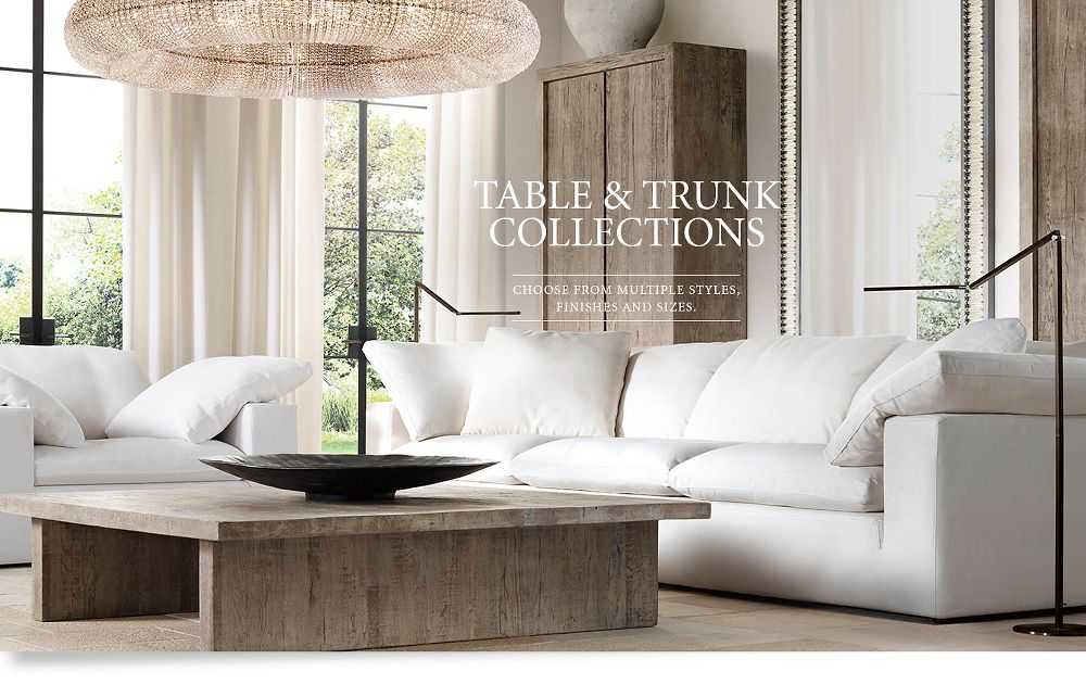 Table and Trunk Collections