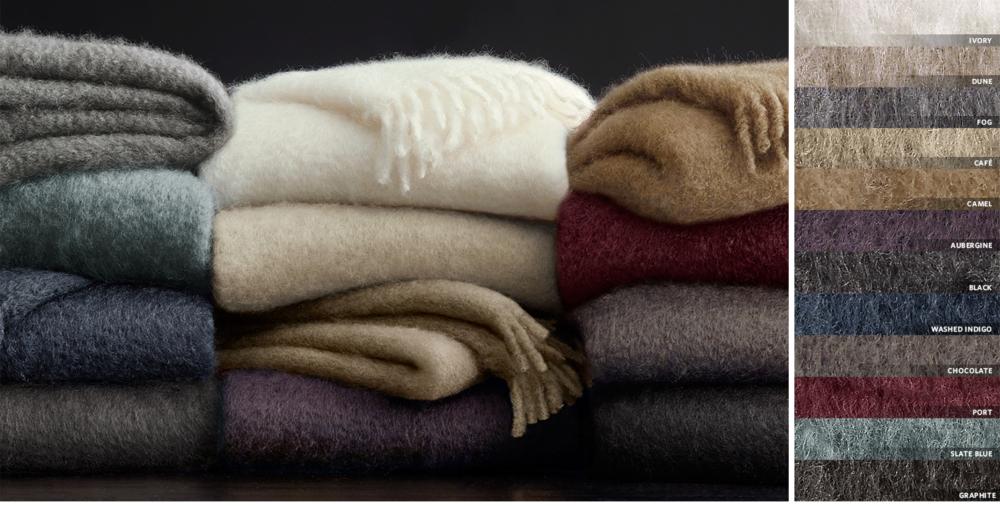 Very best Throws, Blankets & Pillows | RH EN93