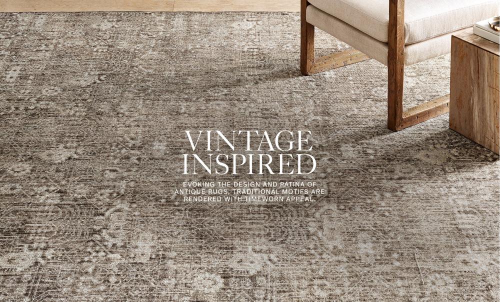 Shop Vintage Inspired Rugs