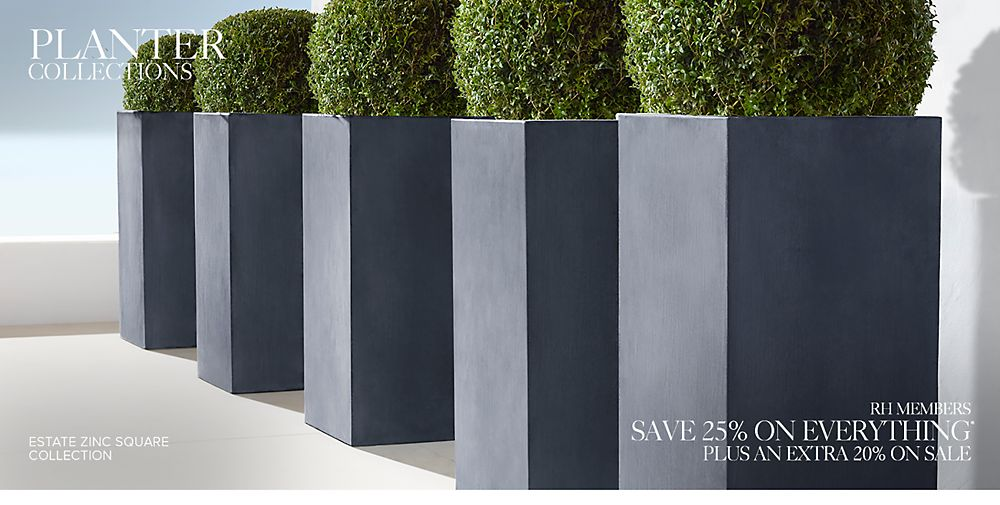 Outdoor Planter Collections
