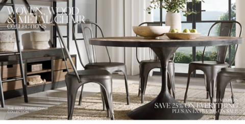 ... Shop Wood and Metal Dining Chair Collections & Wood Metal \u0026 Woven Chair Collections | RH